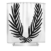 Symbol Achievement Shower Curtain