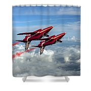 Synchro Pair Shower Curtain