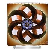 Synergy Mandala 2 Shower Curtain