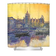 Szczecin - Poland Shower Curtain