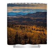 Taiga In Fall Shower Curtain