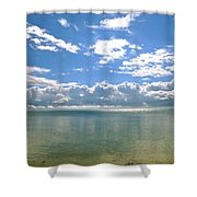 Taking Your Breath Away  Shower Curtain