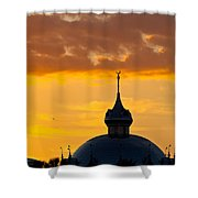 Tampa Bay Hotel Dome At Sundown Shower Curtain