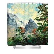 Tatry Mountains- Poland Shower Curtain
