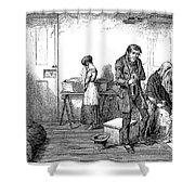 Temperance Movement, 1847 Shower Curtain