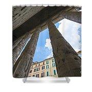 Tempio Di Adriano Shower Curtain