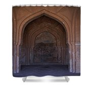 Temple In Hampi Shower Curtain