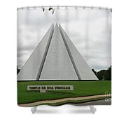 Temple Of Good Will Shower Curtain