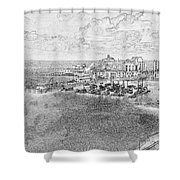 Tenby Harbor Shower Curtain