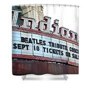 Terre Haute - Indiana Theater Shower Curtain