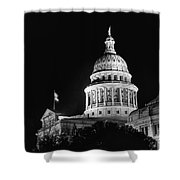 Texas State Capitol 2 Shower Curtain