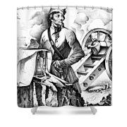 Thaddeus Kosciusko Shower Curtain