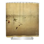 Thai River Life Shower Curtain