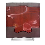 The African Kimono Shower Curtain