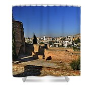 The Alhambra Palace Cubo Tower Shower Curtain
