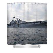 The Amphibious Assault Ship Uss Shower Curtain