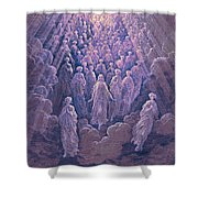 The Angels In The Planet Mercury Shower Curtain