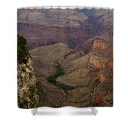 The Awe Of Nature Shower Curtain