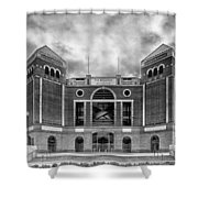 The Ballpark In Arlington Shower Curtain