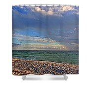 The Beach - Florida Beaches Shower Curtain