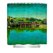 The Bridge 13 Shower Curtain