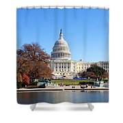 The Capitol Shower Curtain
