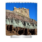The Castle Capitol Reef National Park Utah Shower Curtain