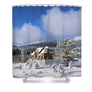 The Chapel On The Rock I Shower Curtain