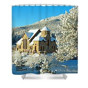 The Chapel On The Rock II Shower Curtain