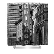 The Chicago Theatre Shower Curtain
