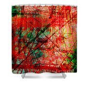 The City 14 Shower Curtain