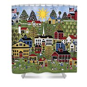 The Dairy Festival Shower Curtain