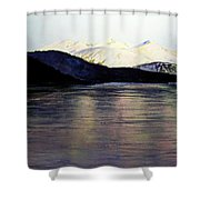 The Deepening Day  Shower Curtain