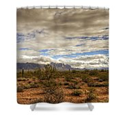 The Desert Southwest  Shower Curtain