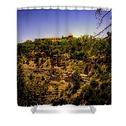 The El Tovar Hotel At The Grand Canyon Shower Curtain