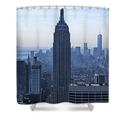 The Empire State Building Shower Curtain