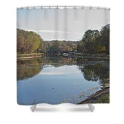 The Erie Canal  Shower Curtain