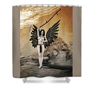 The Exterminating Angel Shower Curtain
