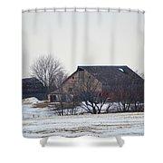The Farm Shower Curtain