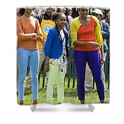 The First Lady And Daughters Shower Curtain