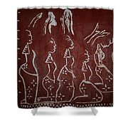 The Five Wise Virgins Shower Curtain