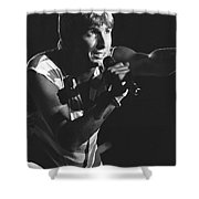 The Fixx Shower Curtain