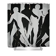 The Fugitive Shower Curtain