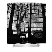 The Gardner Room Shower Curtain