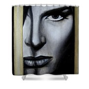 The Golden Cage Shower Curtain