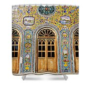 The Golestan Palace In Tehran Iran Shower Curtain