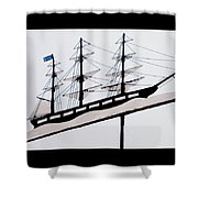 The Good Ship Bethel Shower Curtain