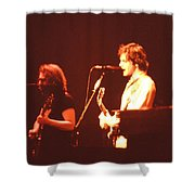 In Concert - The Grateful Dead  Shower Curtain