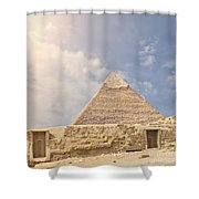 The Great Pyramid Shower Curtain