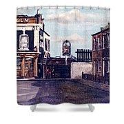 The Gun Public House Isle Of Dogs London Shower Curtain